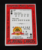 Knowledge Of Music Playing Cards - Single Deck KOM101
