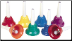 KIDSPLAY 8-NOTE HANDBELL SET