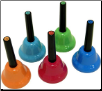 KIDSPLAY SET OF 5 CHROMATIC ADD ON HANDBELLS